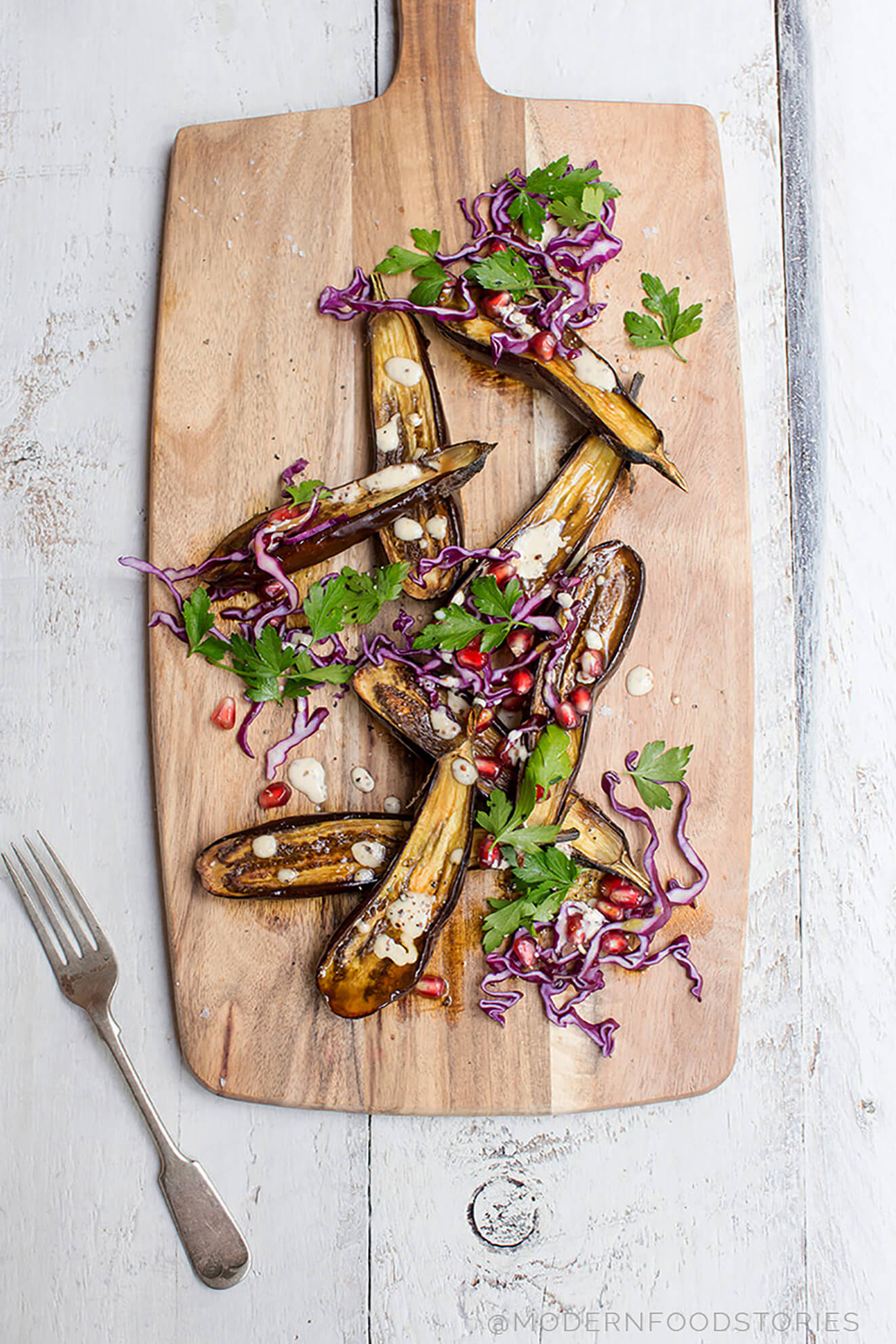roasted aubergine recipe
