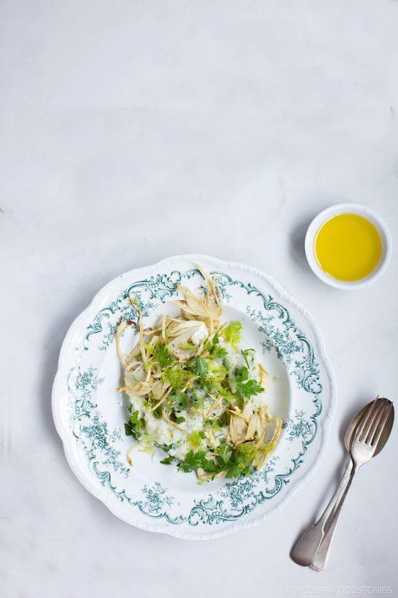 Herby cauliflower mash