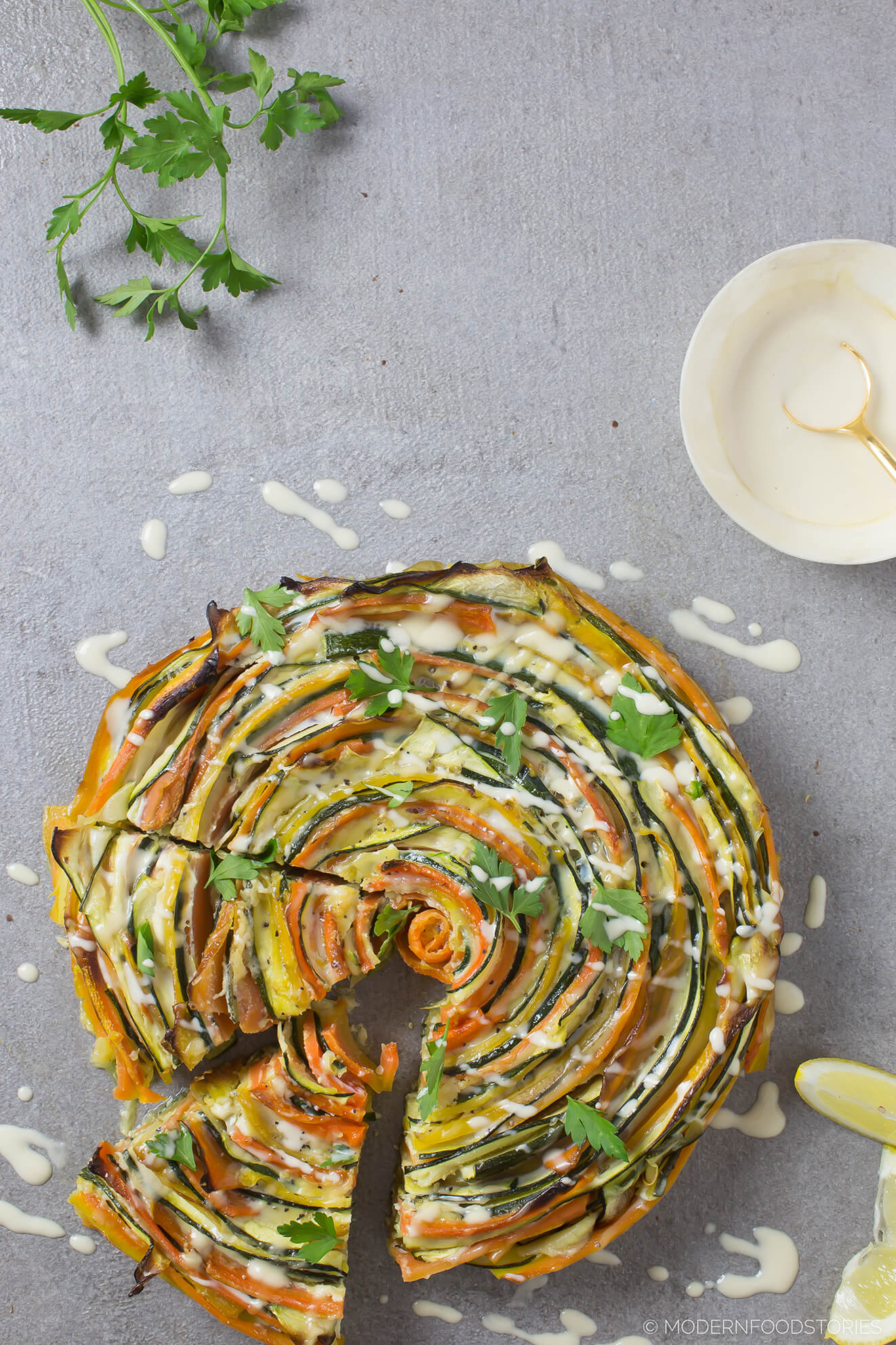 grain free recipes, Grain free pie, Paleo quiche, Paleo pie, Keto pie, Keto breakfast recipes, frittata, Modern Food stories, Paleo Crust, courgette and carrot swirl, gluten free quiche,