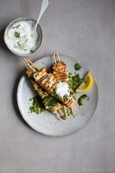 salmon recipes, BBQ recipes, kebab recipes, Modern Food Stories, food photographer, london food photographer Jo Harding