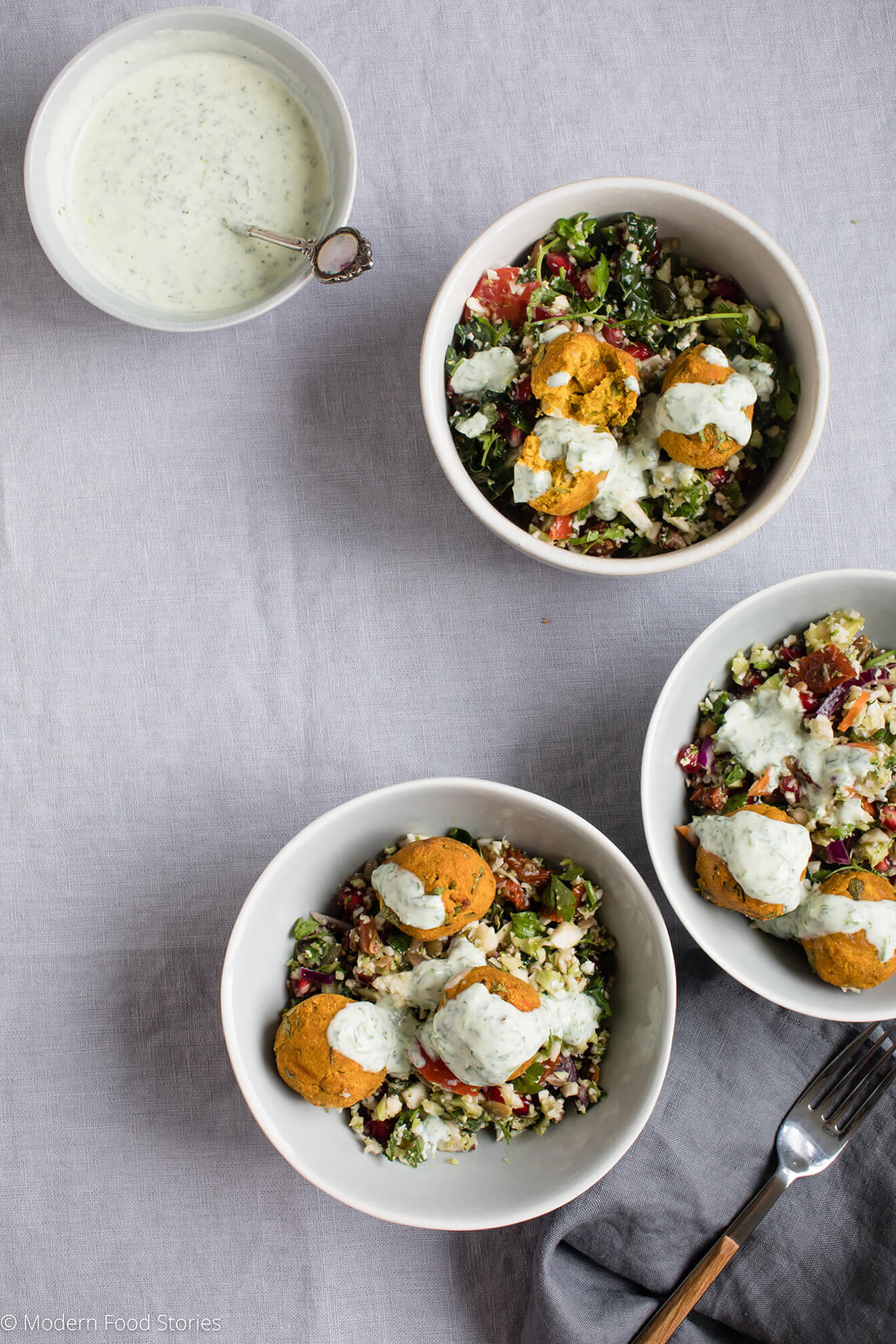 Legume free spiced carrot falafel and coconut yoghurt - Contemporary cuisine recipes ...