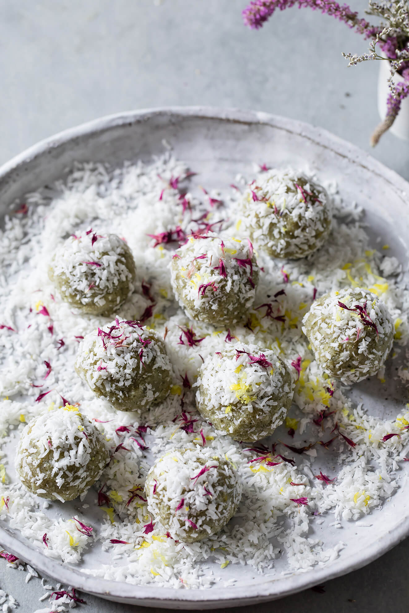 Lemon and Honey Immunity Bliss Balls