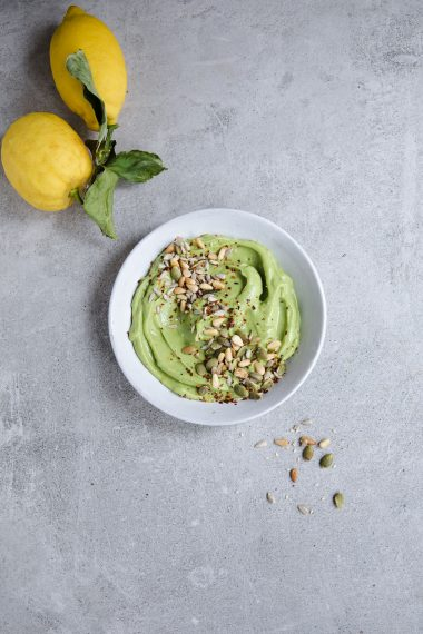 Vegan Avocado Cream, Modern Food Stories