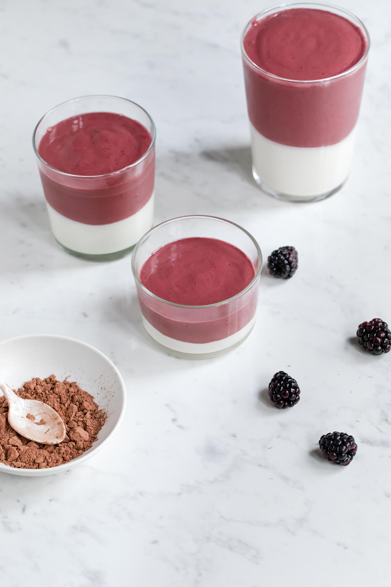 Raw Cacao Beet Berry Smoothie