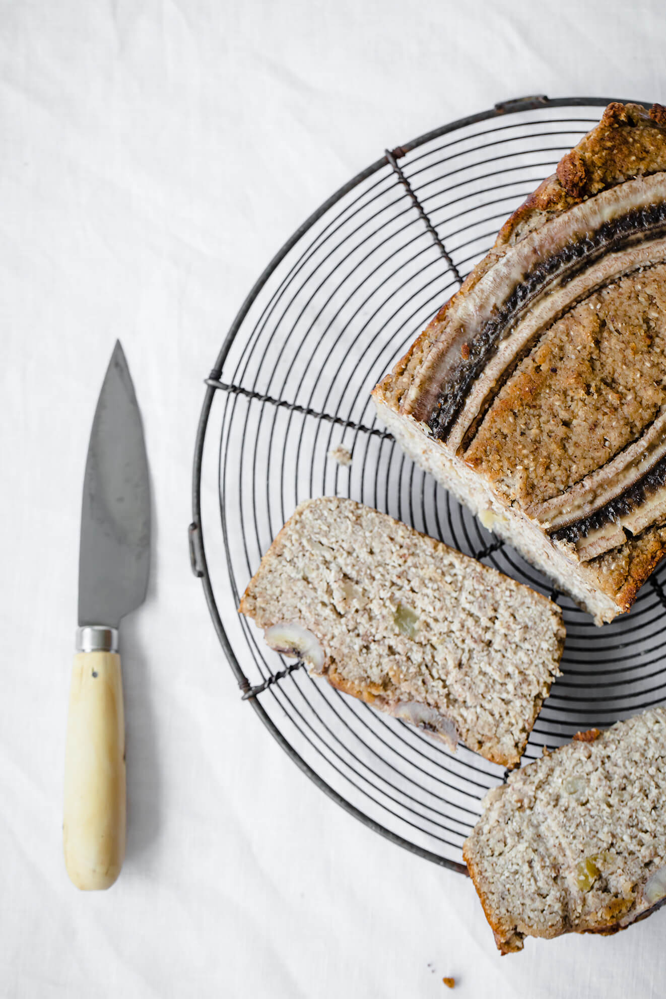 Vegan Banana Bread, london food photographer