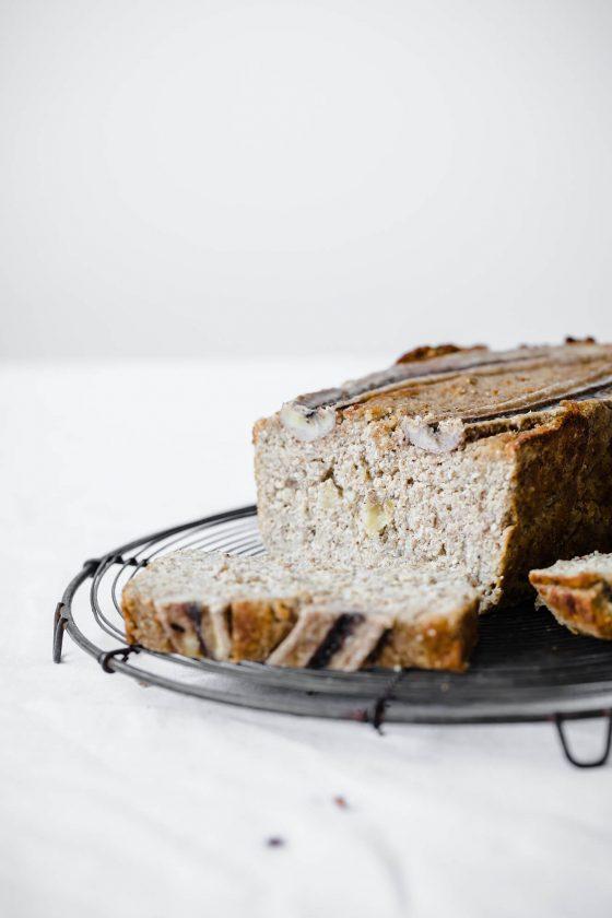 Vegan Banana Bread, Modern Food Stories