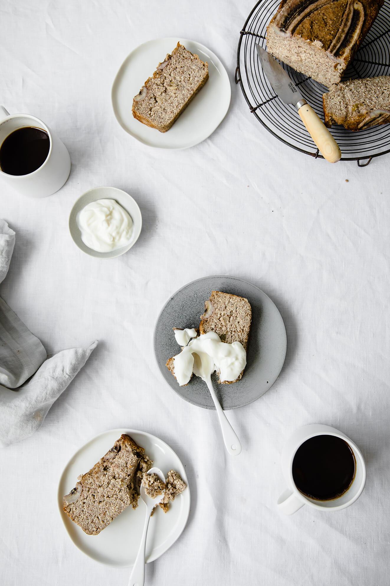 Vegan Banana Bread, London food photographer