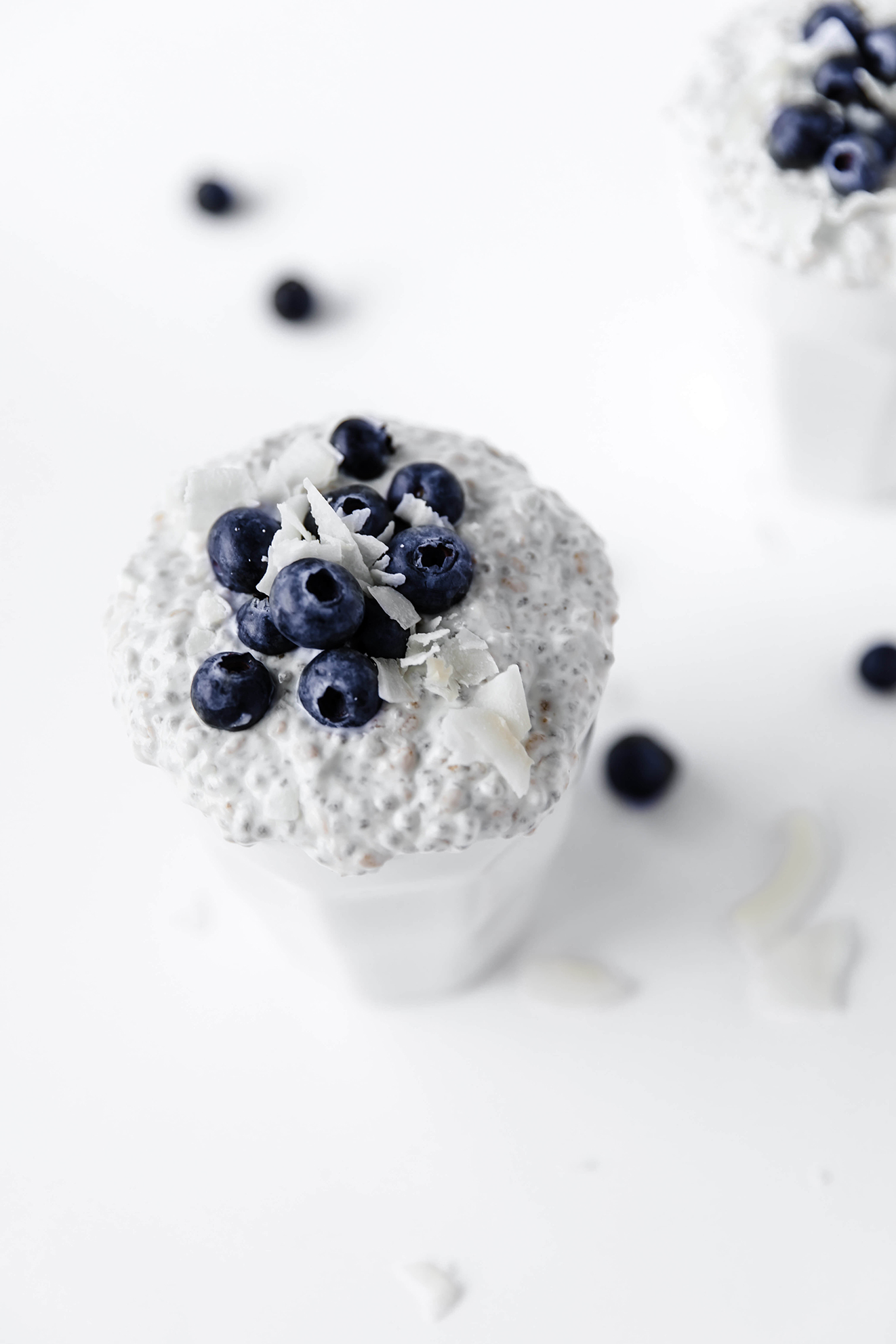 Vegan Chia Pudding, Modern Food Stories, food photography