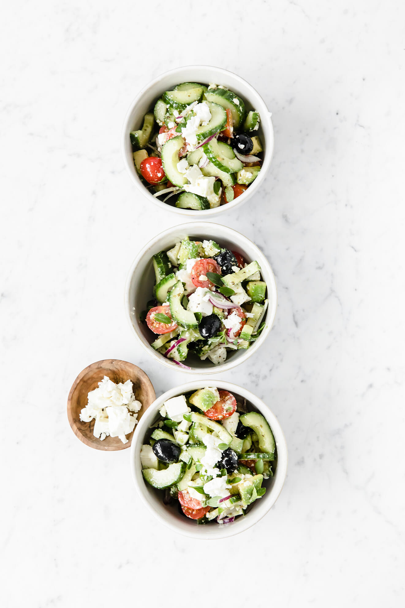 Better Than Greek Salad I Healthy Recipes I Modern Food Stories
