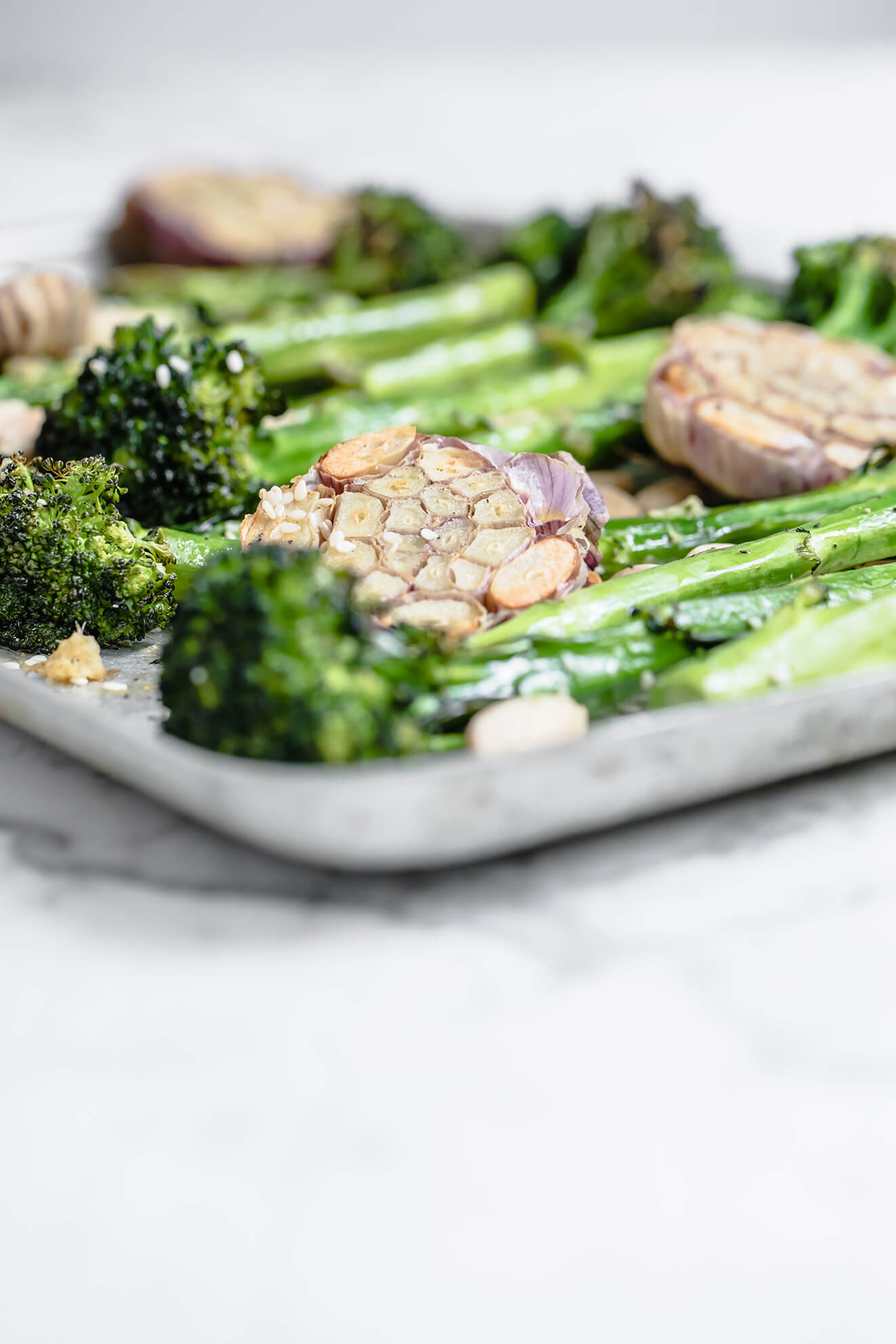 Roasted Broccolini, Keto recipes, Modern Food Stories, food photography