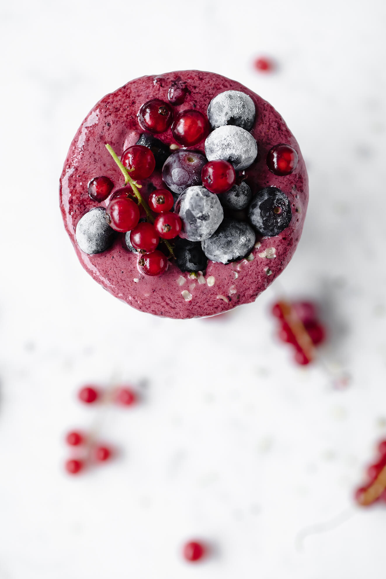 Vegan Probiotic Berry Frappe, Modern Food Stories, food photography, berry smoothie