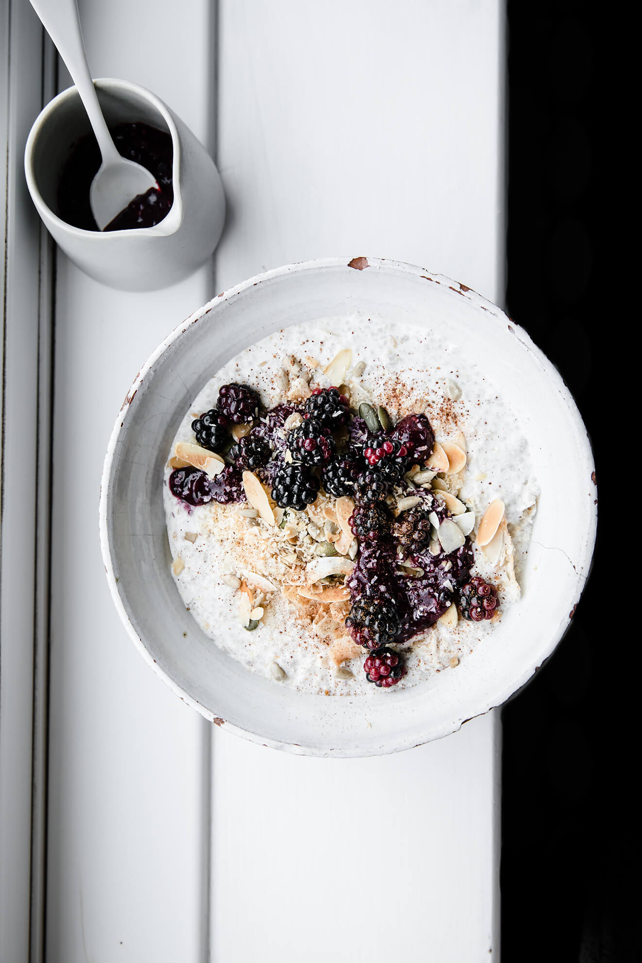Noatmeal, grain free oats, food photography, Modern Food Stories, Keto Oatmeal