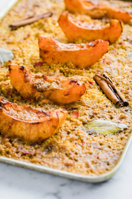 vegan pumpkin recipes, pumpkin recipes, Low carb curry, Vegan Pumpkin and Cauliflower Rice Curry, Modern Food Stories, Vegan Pumpkin Cauliflower Rice Curry