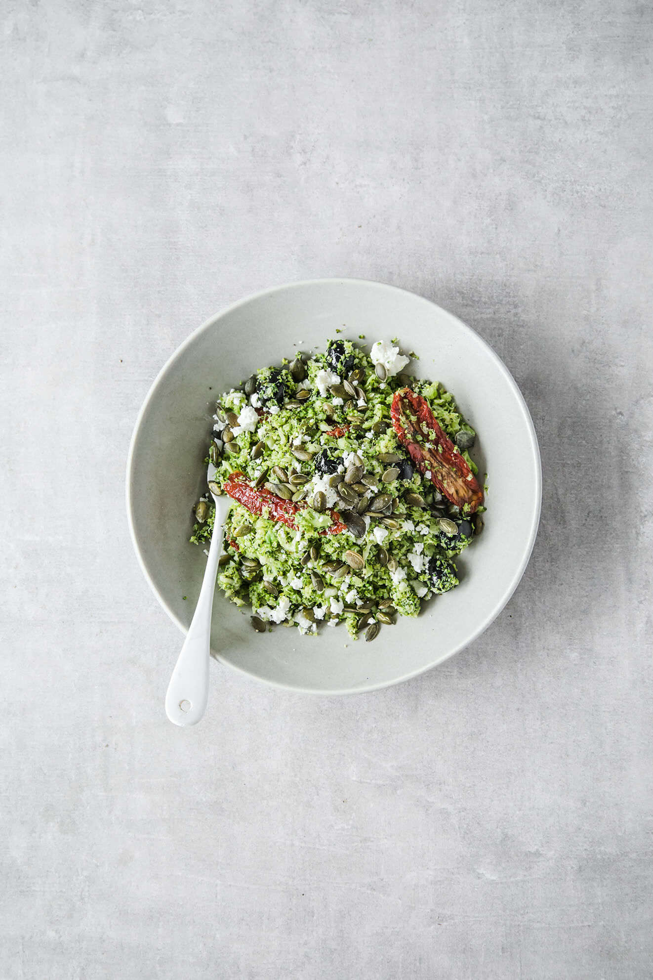 broccoli rice, food photography, Modern Food Stories,