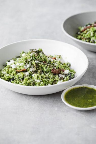 broccoli rice, food photography, Modern Food Stories,