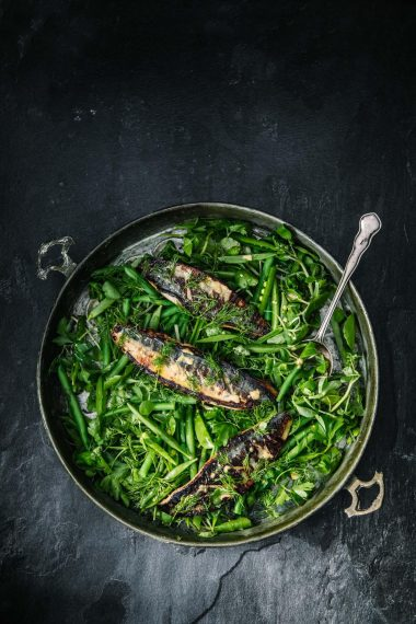 Devilled Mackerel Salad, Modernfoodstories