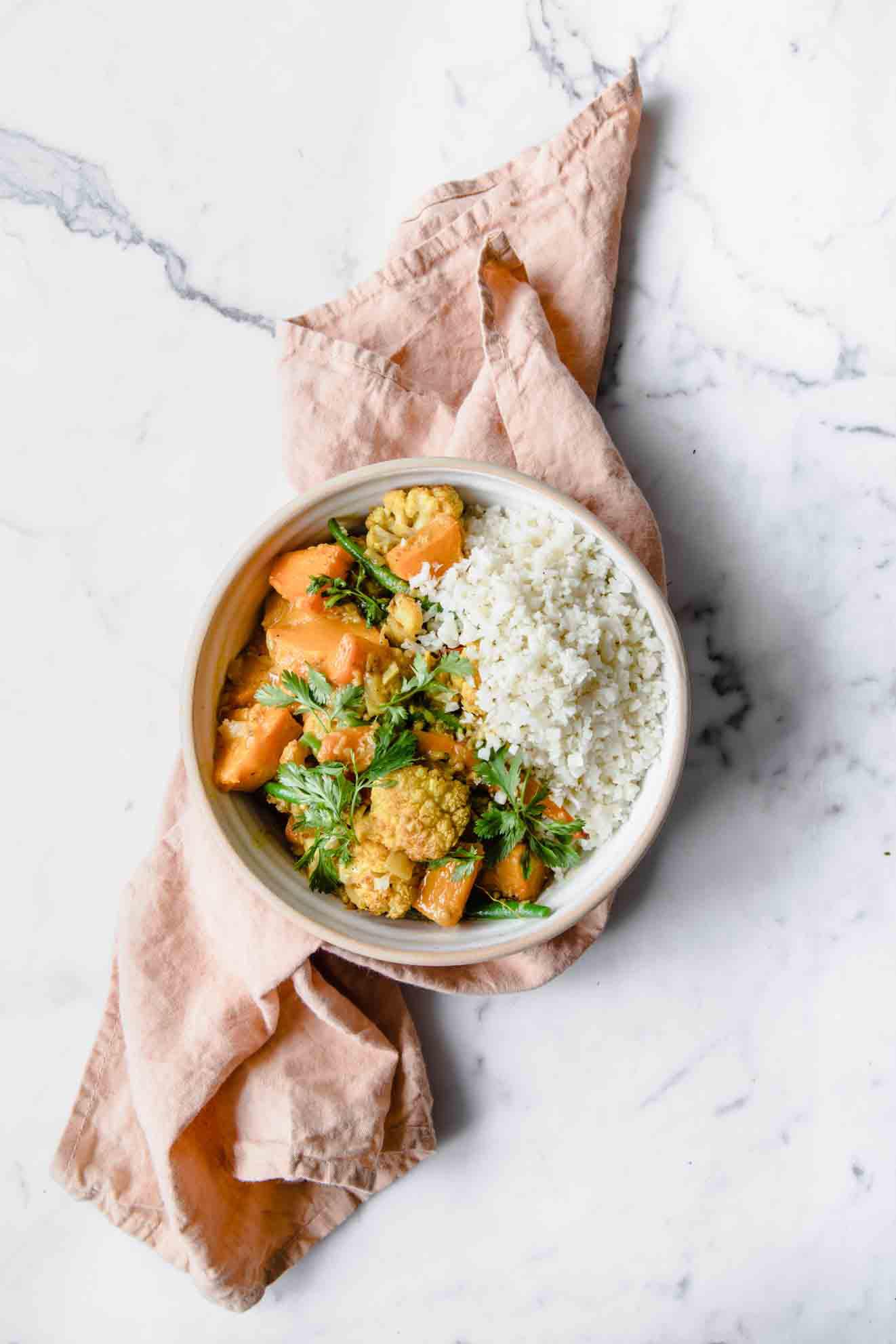 vegan curry, vegan pumpkin curry