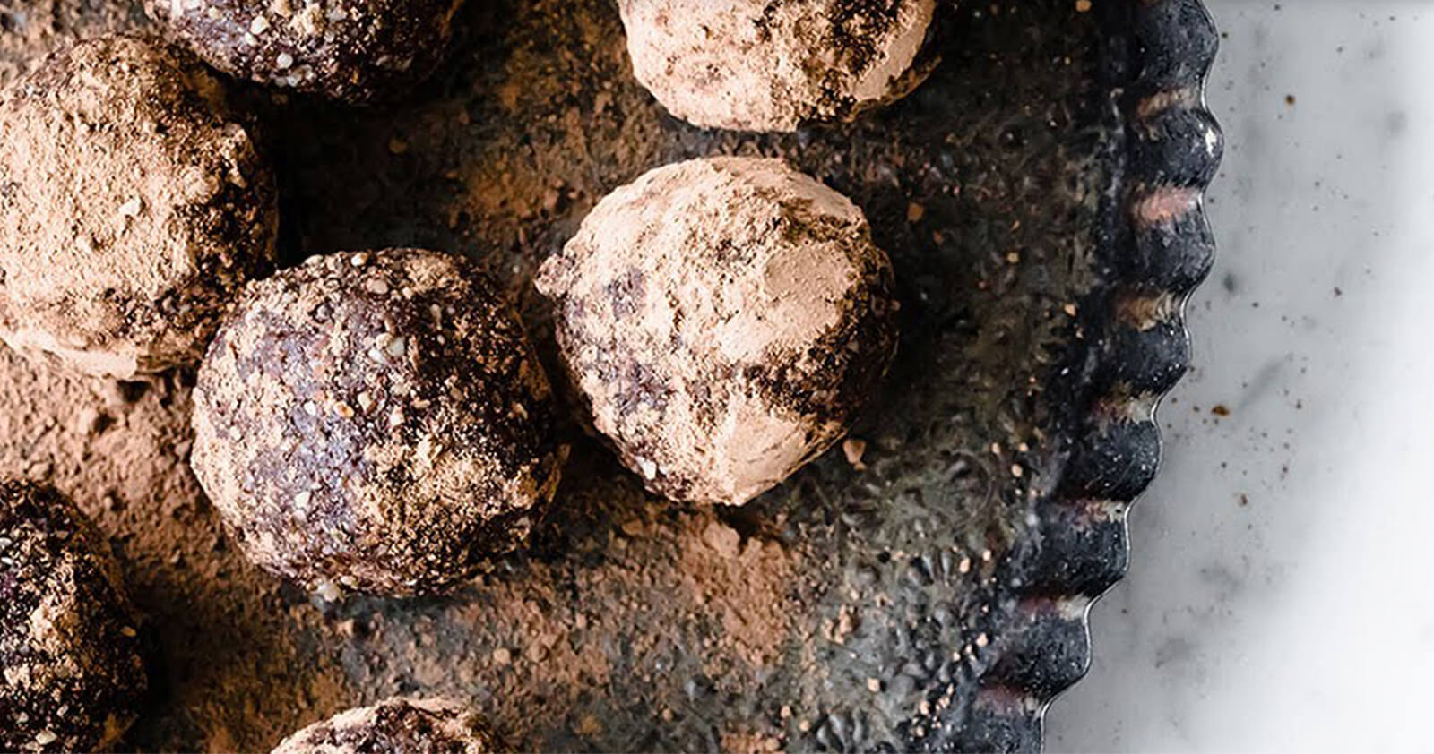 Super Green Cacao Energy Balls - Food Videography Produced for KetoDiet
