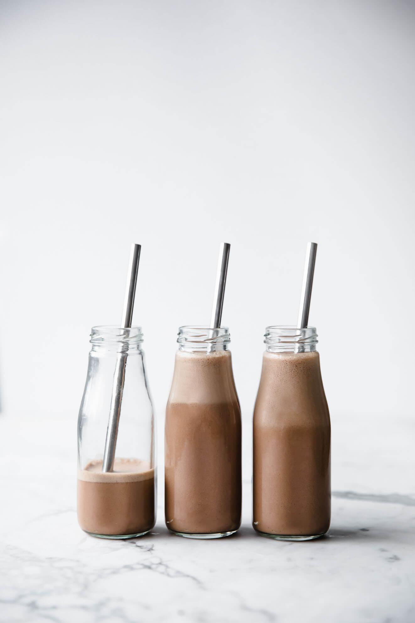 Vegan Chocolate Hazelnut Milk