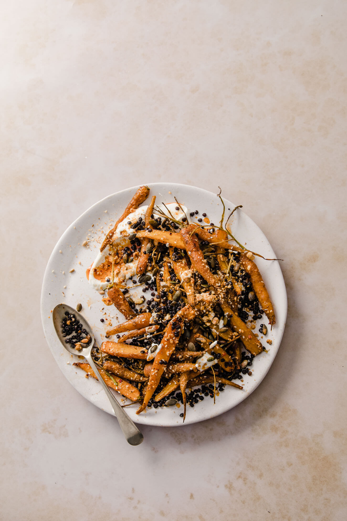 Dukkah Roasted Carrots