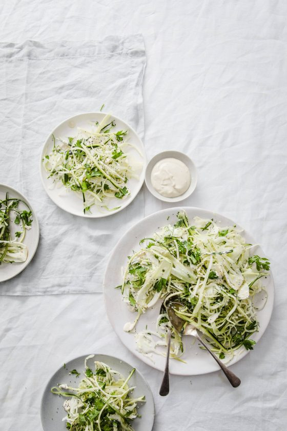 Go With Everything Green Vegan Slaw