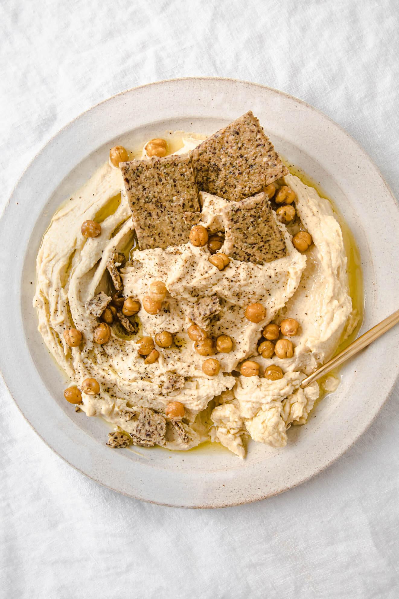 Super Smooth Healthy Hummus