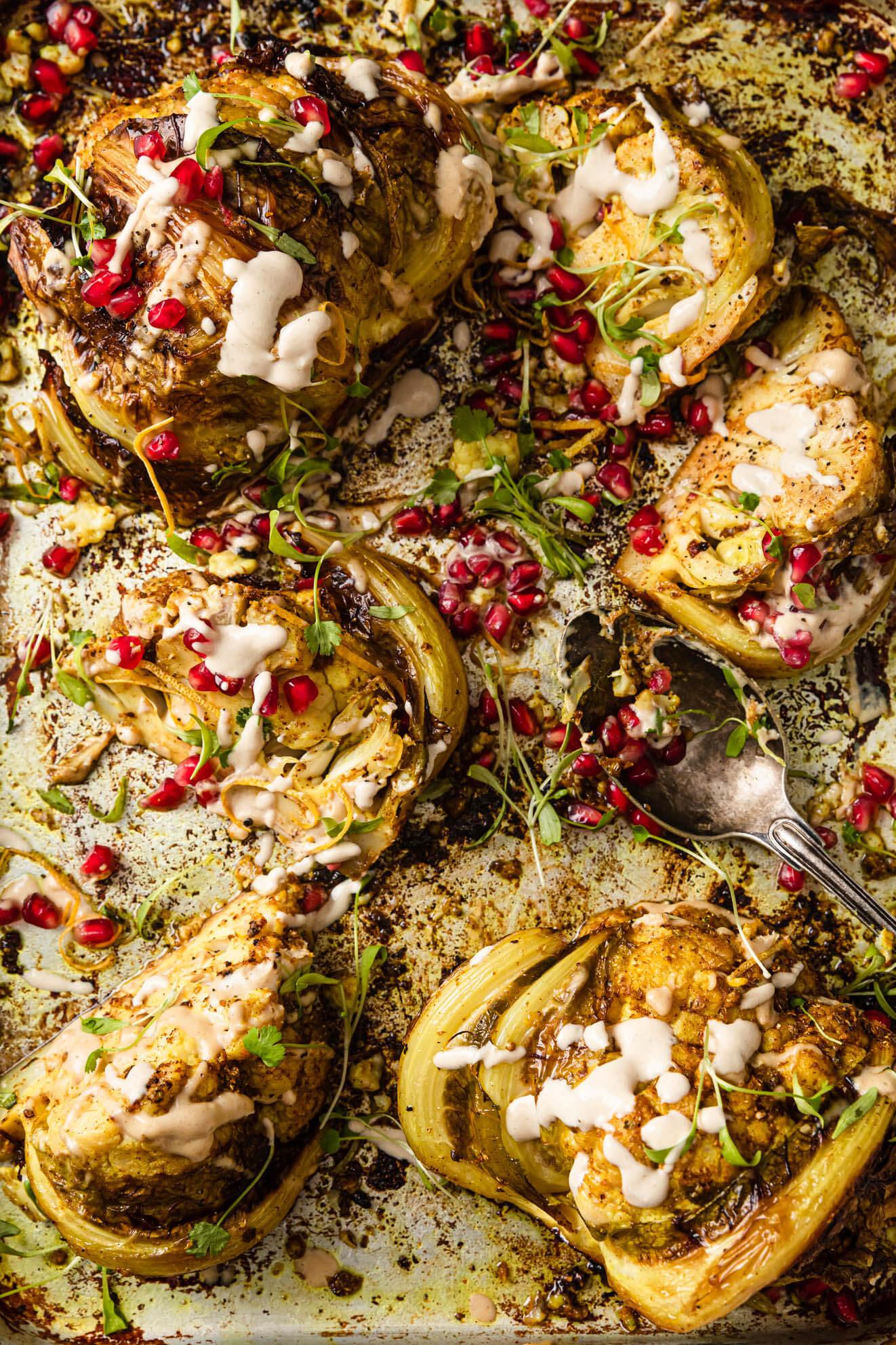 Vegan Cauliflower Shawarma