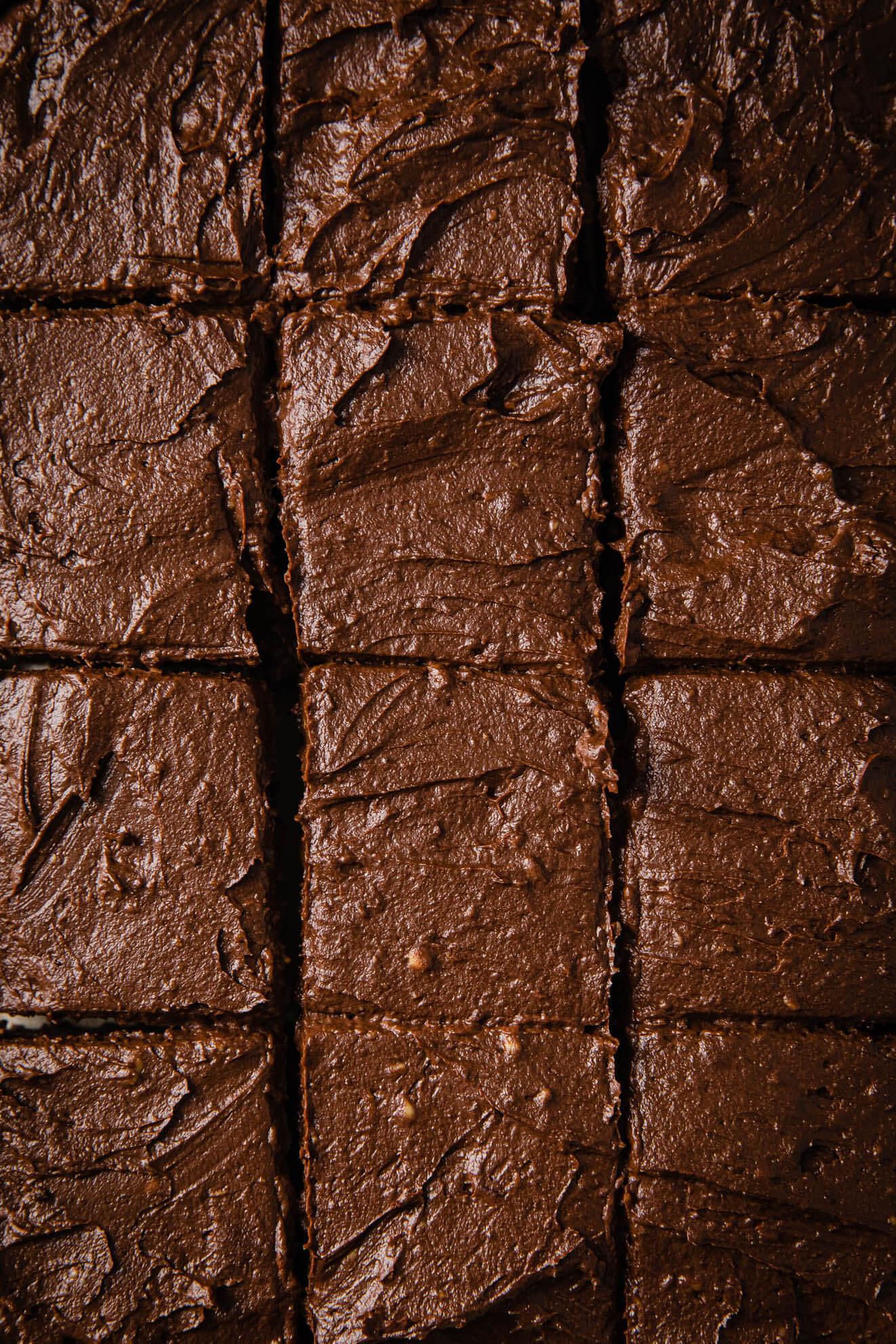 vegan coconut flour brownies