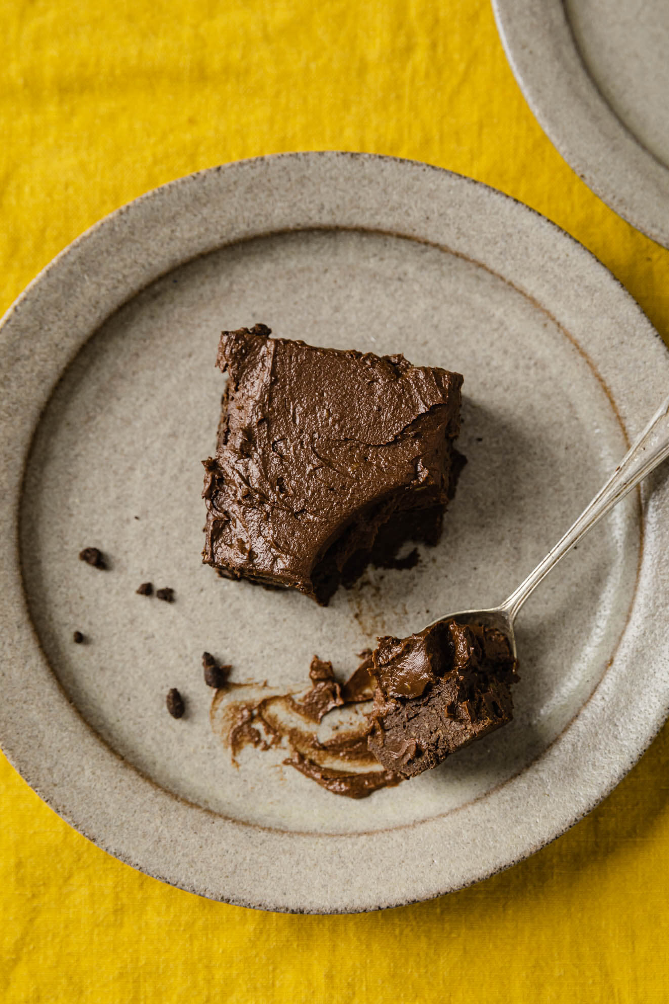 healthy sugar free chocolate avocado brownies