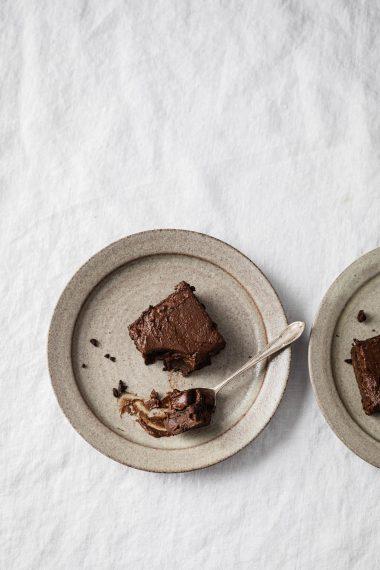 Vegan Keto Chocolate Avocado Brownies
