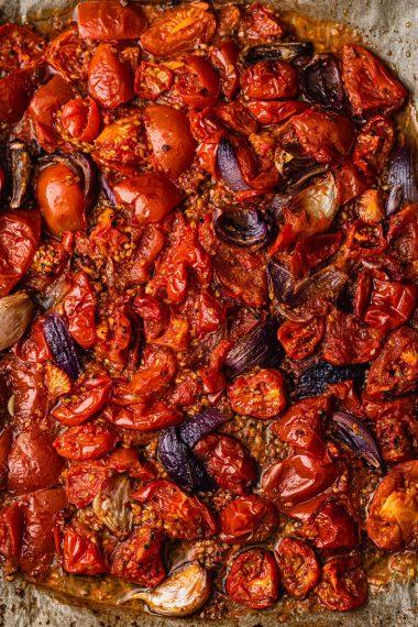 Easy No Waste Roasted Tomato Sauce