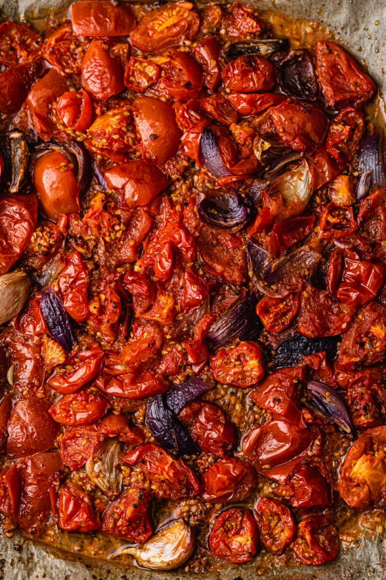 Easy No Waste Roasted Tomato Sauce