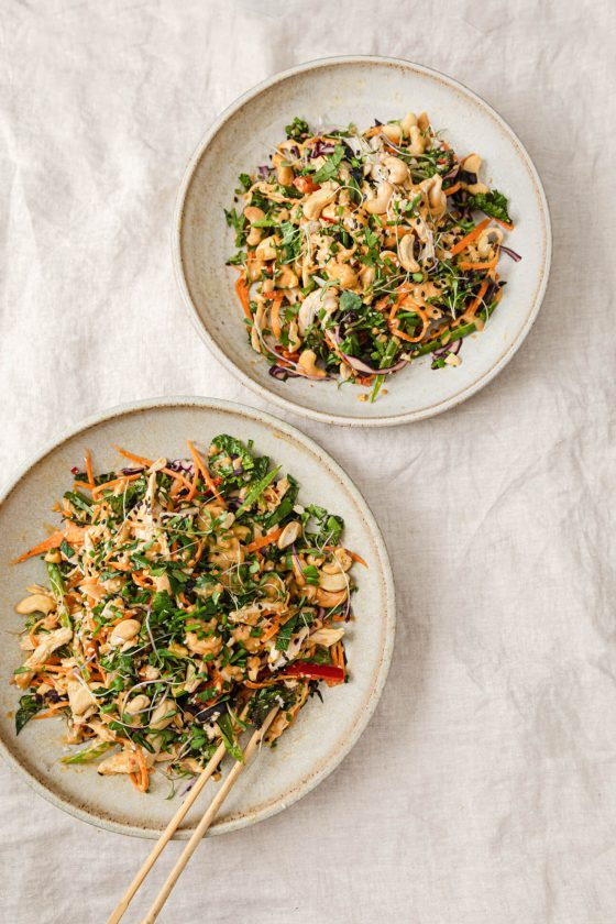 The Best Thai Chicken Salad